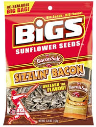 bacon sunflower seeds bigs sunflower seeds bacon 5 35oz rural king