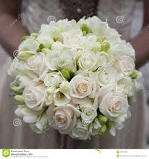White Rose Bouquet Wedding Bouquet Of Pink And White Roses Royalty Free Stock Photos