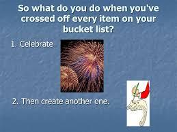 creating your bucket list squidoo ppt download