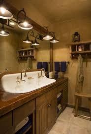 diy bathroom vanity ideas rustic pine bathroom vanities brown marble tiles floor wine barrel