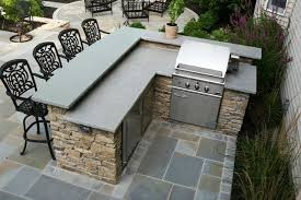 backyard bbq bar designs outdoor grill and bar design plans outdoor fieldstone kitchen