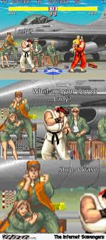 Fighter Meme - funny what are you doing street fighter meme pmslweb