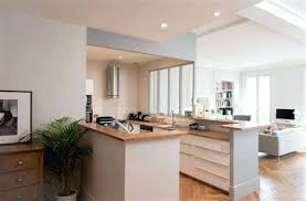 sejour et cuisine ouverte beautiful modele sejour design contemporary amazing house design