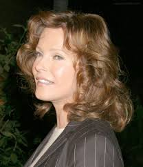 hair colors for 50 plus cheryl ladd hairstyle with curls and a hair color that makes a