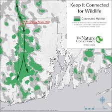 Rhode Island Map R I Land Conservationists Worry Power Plant Will Fragment Forest