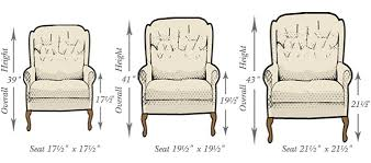 Armchair Dimensions Bespoke Furniture Buying Guide Scotts Of Stow