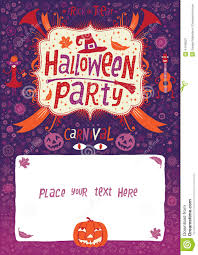 halloween party halloween poster card or background for