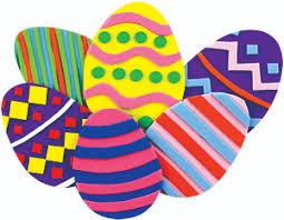 foam easter eggs elmers project ideas crafts foam easter eggs