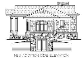 home design drawing home remodeling 2 elevation drawing 1950 s ranch basement