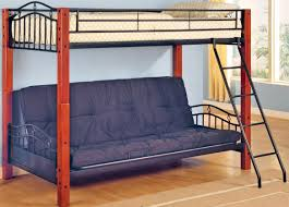 futon diy make loft bed with futon underneath plans built coffee