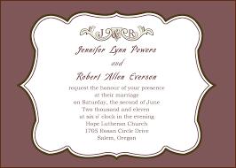 wedding invitation wording sles beautiful wedding invitation wording no parents wedding