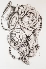 heart and flowers tattoo best 25 pocket watch tattoos ideas only on pinterest clock
