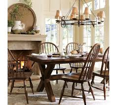 interior modern picture of breakfast room decoration using round