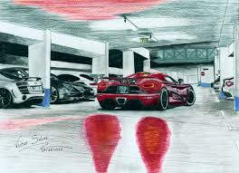 koenigsegg one drawing koenigsegg agera r by vsales on deviantart