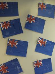 australia flag craft crafts for kids pinterest australia