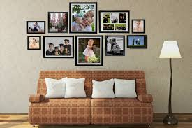 hanging picture frames ideas interior wall picture frames layout arranging ideas hanging