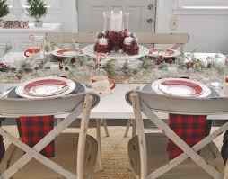 christmas dining room decorations cottage farmhouse christmas dining room fox hollow cottage