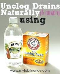 baking soda and vinegar clogged sink how to clean drains with baking soda and vinegar the chemistry of