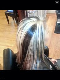 pics of platnium an brown hair styles 219 best hair beauty images on pinterest hair colors hair color