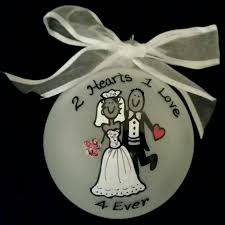 Wedding Ornaments Personalized 37 Best Personal Christmas Ornaments Images On Pinterest Frosted