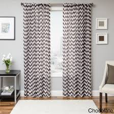 Walmart Home Decor Fabric by Curtains Fill Your Home With Pretty Chevron Curtains For