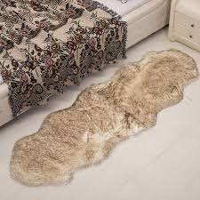 Sheepskin Area Rugs 60x1 8m Modren Home Plush Wool Carpet Sheepskin Faux Fur Area Rugs