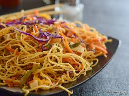 hakka cuisine recipes hakka noodles vegetable chow mein yummily yours