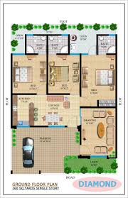 charming 300 yards house plan photos best image engine