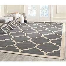 Safavieh Outdoor Rug Safavieh Courtyard Collection Cy6914 246 Anthracite