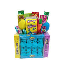 easter marshmallow candy easter marshmallow peep candy gift basket walmart