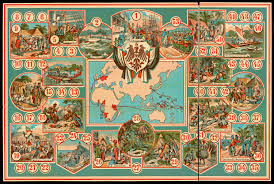 Asia Map Game by 19th Century Board Game Offers A Tour Of The German Colonies The