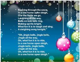 jingle bells lyrics full song christmas text rhymes