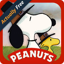 a brown thanksgiving peanuts read and play