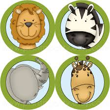 safari cake toppers printable safari cupcake toppers