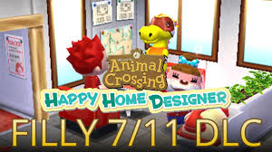Home Designer by 7 11 Filly Dlc In Animal Crossing Happy Home Designer English
