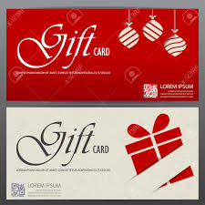 christmas and new year gift voucher certificate coupon template