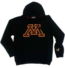 berkeley sweater s big m logo black minnesota gophers hooded sweatshirt dome
