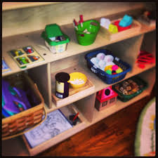 Montessori Bookshelves by Montessori Education Forcing The Bloom
