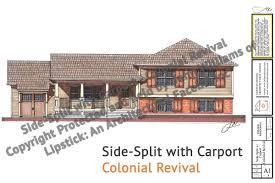 House With Carport by Side Split With Carport U2013 Jw Lipstick Designs