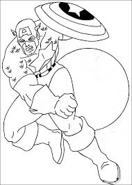 captain america coloring pages kids coloring pictures