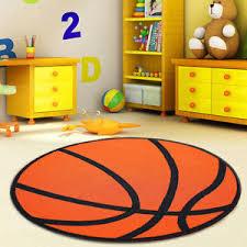 Orange Kids Rug Kids Round Rug Ebay