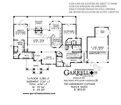 two bedroom cottage house plans lodgemont cottage house plan house plans by garrell associates inc