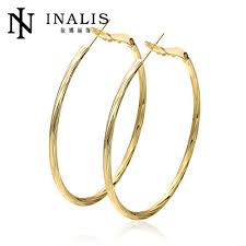 hoops earrings india e950 hot sale 18k gold plated hoop earrings vintage