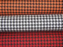 Car Interior Upholstery Fabric Houndstooth Automotive Fabric