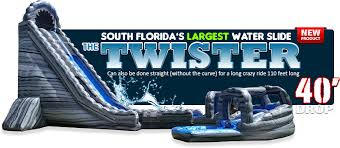 party rental west palm bounce house water slide and party rentals boca raton delray