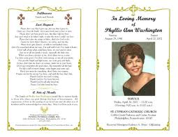 funeral program wording funeral program template sle free loving memory templates masir