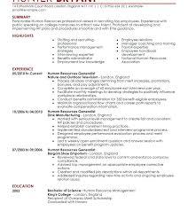 recruiting manager resume template recruitment manager resume sle human resource manager resume