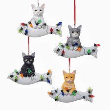 cat ornaments furrypartners