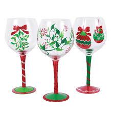 christmas wine christmas wine glasses you ll wayfair