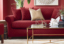 2 Piece Stretch Sofa Slipcover Sure Fit French Country Furniture Slipcovers Ebay
